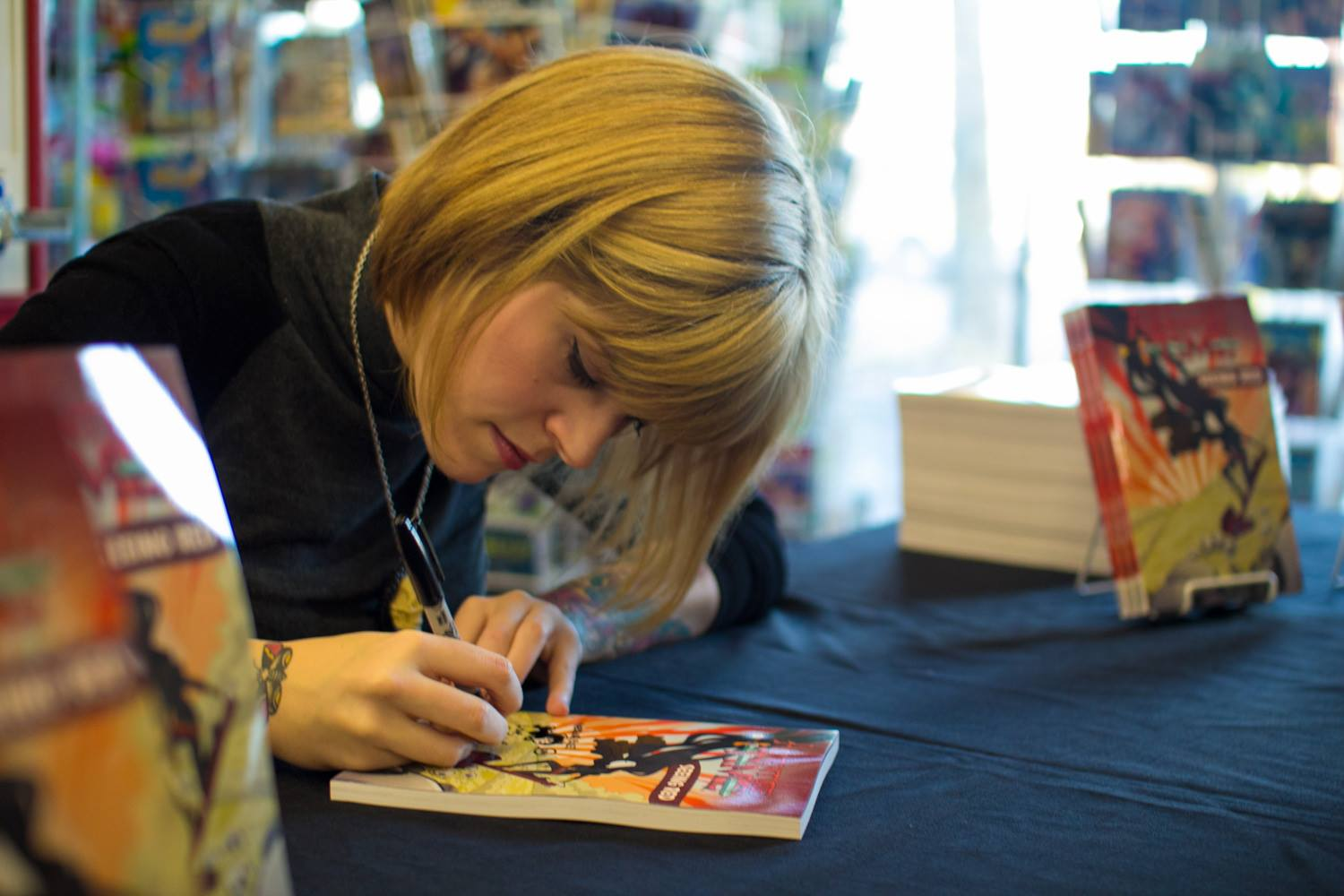 Re-Post: My Interview with Kate Leth on the Tattoo Hero Blog