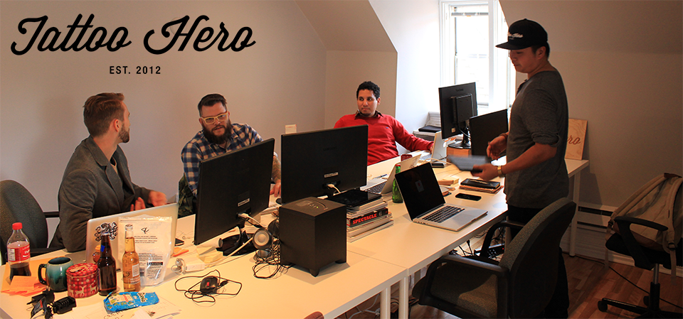 Re-Post: Tattoo Hero Startup Spotlight on the Invest Ottawa Blog